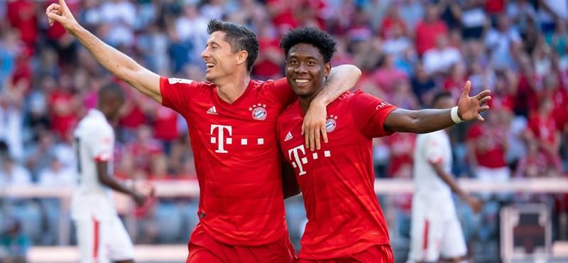 BL: A Bayern München és a Juventus már ott van a 16 között
