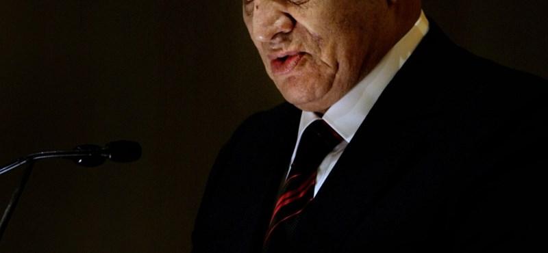 Mubarak ügyvédje szerint rákos a volt elnök