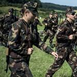 A béremelésre nem lehet panaszuk a magyar katonáknak