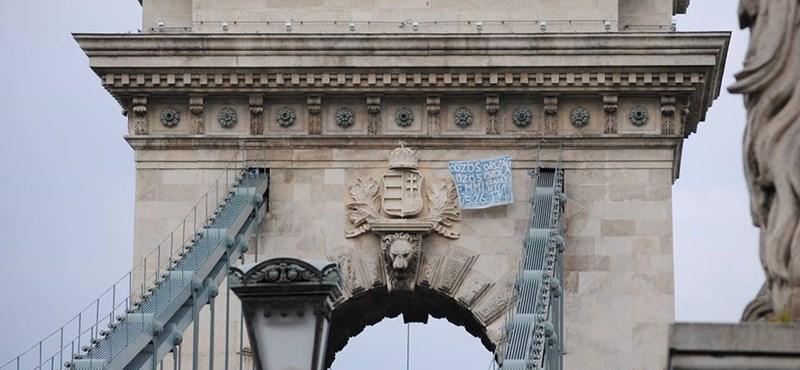 A nap képe: vasárnap tüntetés, újra akcióztak a diákok