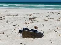 Megtalálták a titokzatos palackposta eredeti tulajdonosát