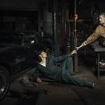 Egy autószerelő műhelyben keltették életre a reneszánsz híres festményeit