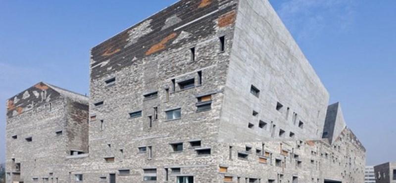 Először nyert kínai építész jelentős nemzetközi díjat