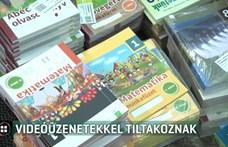 3900 szülő tiltakozik videóüzenetekben az állami tankönyvek ellen