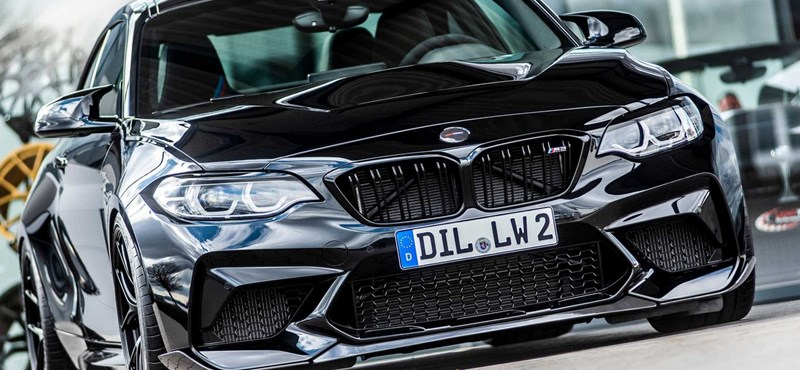740 lóerős lett a kis BMW M2