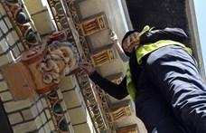 Így áll most az Olof Palme ház felújítása – fotók