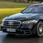 Magyarországon a zöld rendszámos új Mercedes S-osztály