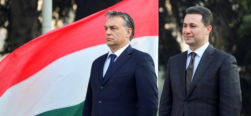 Macedóniából is magyarok segíthettek kijutni Gruevszkinek