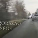 Az utóbbi idők legizgalmasabb közúti krimijét adta elő egy autós