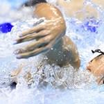 Gyulladt foggal is úszott egyeteméért a magyar úszó