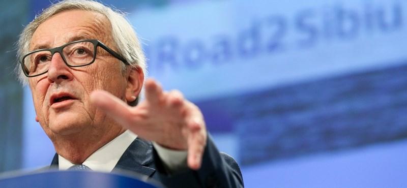 A briteknek beszólt, a lengyelekkel békül Jean-Claude Juncker