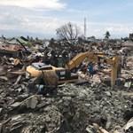 Hat nappal az indonéz földrengés és szökőár után találtak egy túlélelőt a romok alatt