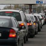 Félpályás útzár van az M1-esen Budapest felé