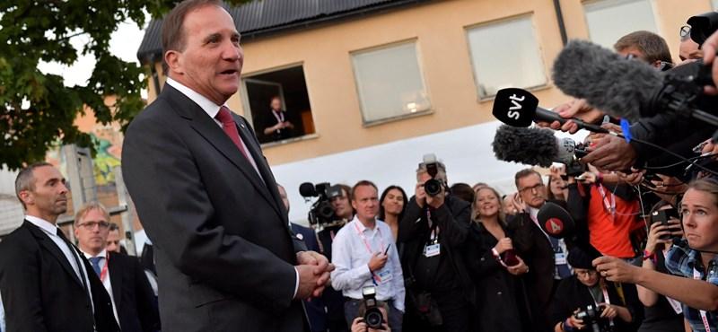 Ha hajszállal is, de nyert a baloldali koalíció a svéd választáson