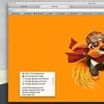 Szabjuk át a Firefoxot, állandóan változó hátterekkel