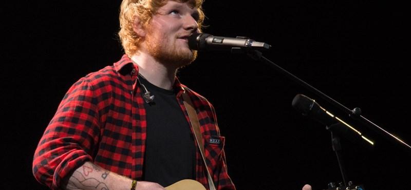 Ed Sheeran lemezeit hallgatta a világ 2017-ben