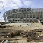 Így áll a lengyel-ukrán foci-Eb egyik stadionja - fotók