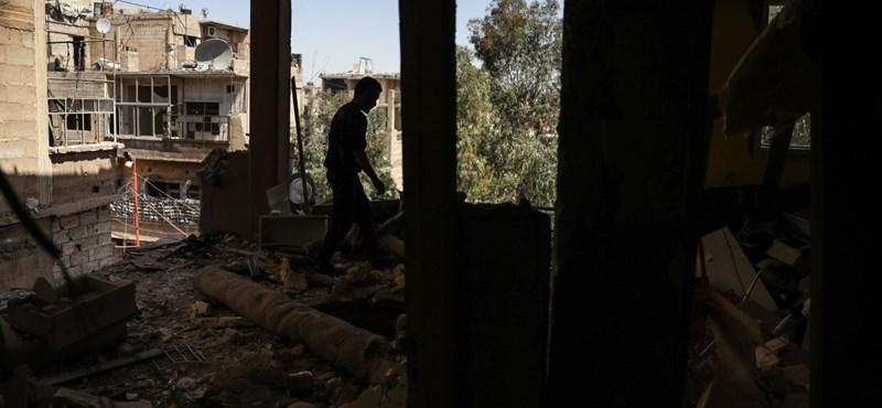 A szír kormányhadsereg szerint bevették Kelet-Gútát