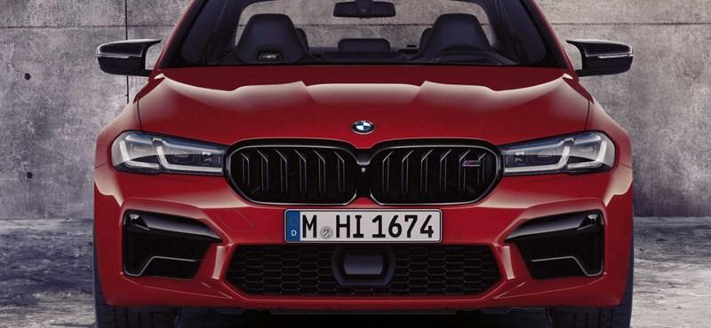 Hivatalos: itt a felfrissített BMW M5