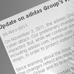 Feltörték az Adidas weboldalát