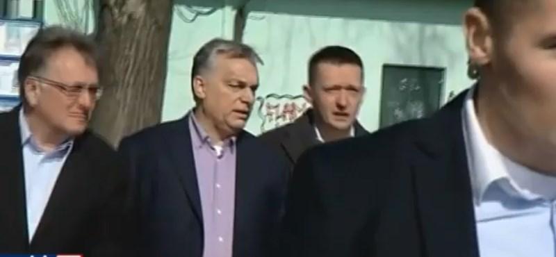 Orbán a HírTV-nek: Fake newsnak nem nyilatkozom