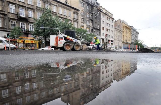 Károly Körút felújítás Budapest Szíve