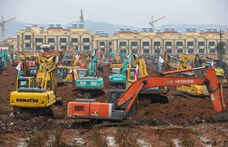 Koronavírus: hat nap alatt húznak fel egy ezer ágyas kórházat Vuhanban