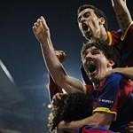 Bajnok lett a Barcelona