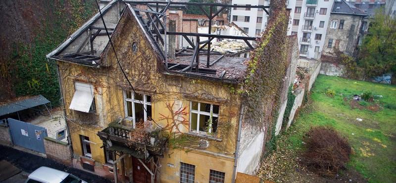 Hírneves művész házát bontják le a VIII. kerületben