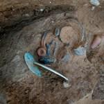 Temetőt találtak egy temető alatt
