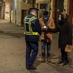 Több mint ezer ember szegte meg a kijárási tilalmat szilveszterkor
