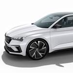 Skoda Scala: így mutat a 8-as VW Golf izgalmas cseh riválisa