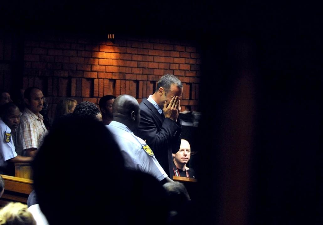 Oscar Pistorius megölte barátnőjét, bíróság