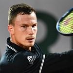Négy szettben kapott ki Fucsovics a Roland Garroson