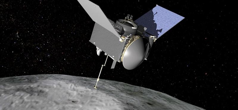 Búcsút vesz a NASA űrszondája a 321 millió kilométerre lévő aszteroidától, lassan elindul a Föld felé
