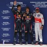 Vettel nagy lépést tett a címvédés felé, Alonso fogadkozik