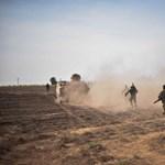 Keresztény harcosok felügyelnek több települést is egy vitatott észak-szíriai térségben
