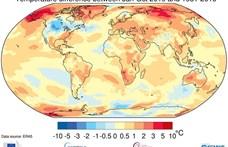 Fájdalmas segélykiáltást tett közzé a Meteorológiai Világszervezet a globális felmelegedésről