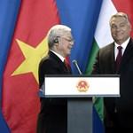 """Orbán a vietnami főtitkárral: A két nép """"legfontosabb vezetői"""" találkoztak"""