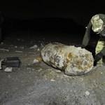 Hatástalanították az egytonnás bombát a IX. kerületben – fotók