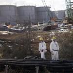 Még mindig sugárzik a víz Fukusimánál