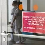 Újabb klinikákon rendeltek el látogatási tilalmat