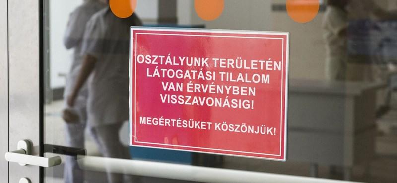 Egyre több helyen van látogatási tilalom az influenza miatt