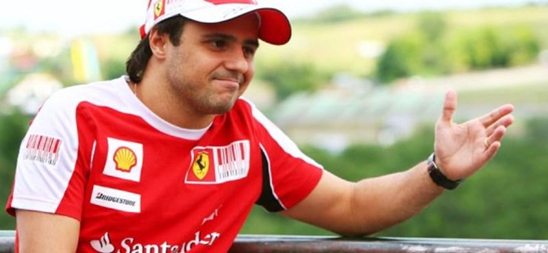 Massa marad a Ferrarinál