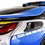 Rendőrautó lett a tuningolt BMW i8-as hibrid sportkocsiból