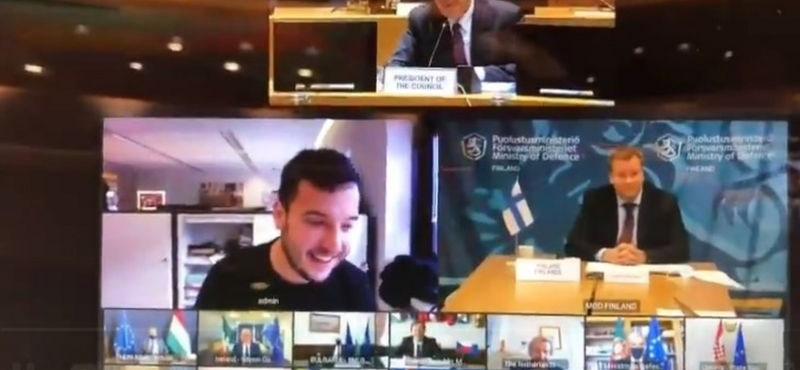 Újságíró trollkodta meg az EU titkos védelmi konferenciáját