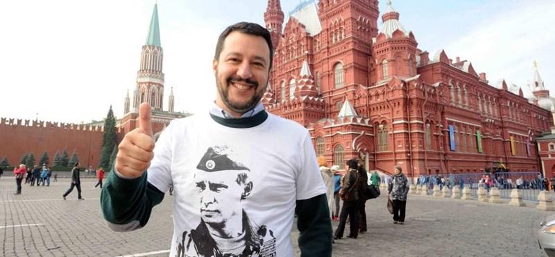Vizsgálja az olasz ügyészség, hogy Salvini kapott-e pénzt az oroszoktól