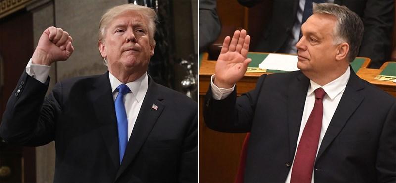 A magyar kormány támogatása miatt bírálják Donald Trumpot