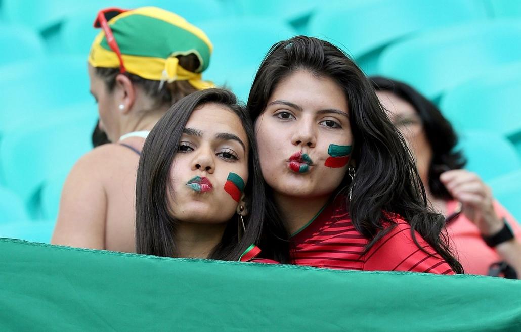 epa.14.06.16. -  Salvador, B.RAZ: 12.meccs - német-portugál-német meccs - vb14meccs, foci-vb 2014, vb-2014, vb14tömeg, vb14szurkoló