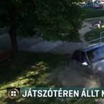 Játszótéren állt meg egy részeg drogos sofőr autója Ózdon